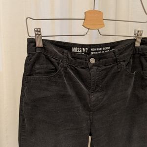 Black Corduroy Mossimo Jeans